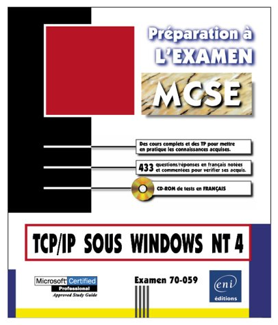 TCP/IP sous Windows NT Exa 70-059
