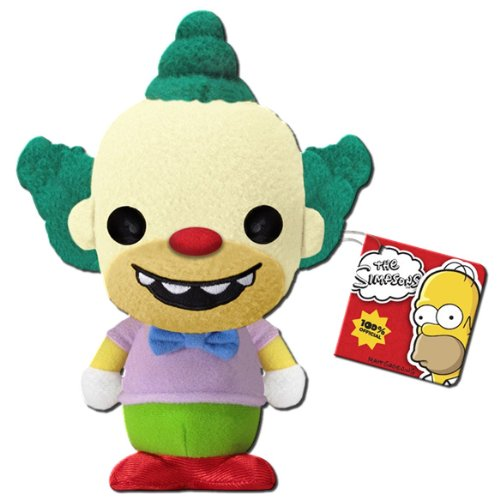 Krusty plush