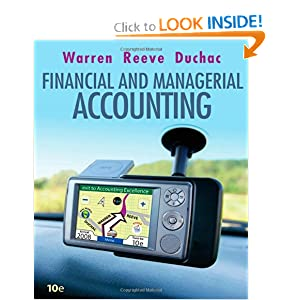 financial and managerial accounting warren