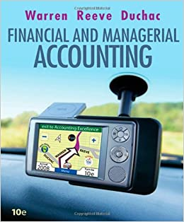 Financial & Managerial Accounting 14th Edition Chapter 4 Solutions ...
