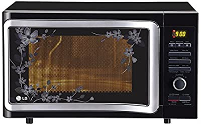 LG MC2884 SMB 28-Litre Convection Microwave Oven (Black Floral)