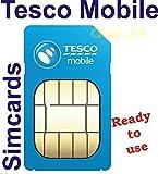 NEW OFFICIAL TESCO MOBILE PAYG SIM CARD