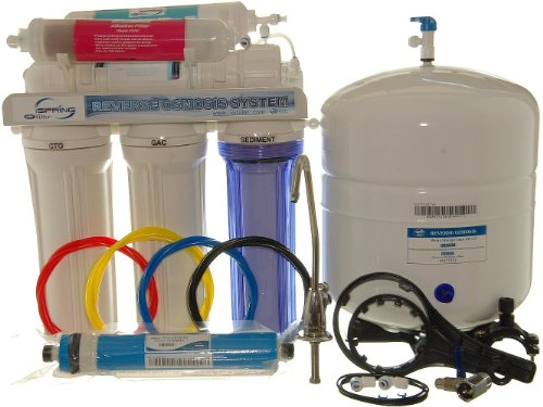 ispring rcc7ak 6-stage reverse osmosis alkaline mineral water filter system