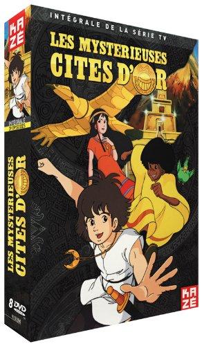 integral dvd les mysterieuses cites d'or