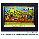 Family Reunion: All Descendents of Mother Earth & Father Sky Are Invited to Attend (The Art of C R Strahan Note Cards, Boxed Set of 8 Cards/Envelopes--Blank Inside) ~ C R Strahan