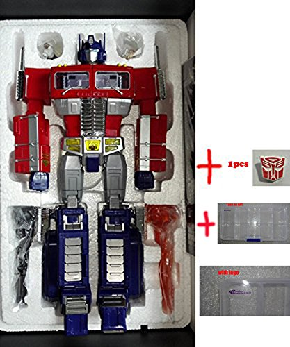 Generic WEIJIANG Transformers Oversized Optimus Prime MPP10 Action Figure Toys +1pcs Metal Autobot Logo