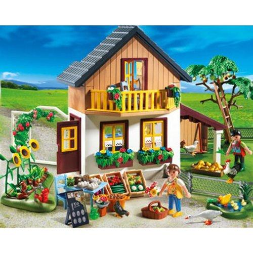 Playmobil: Bauernhaus mit Hofladen