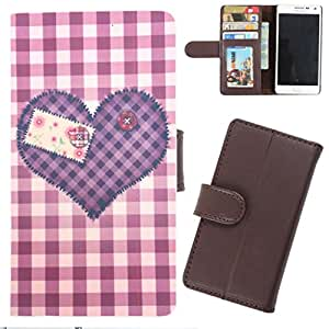 DooDa - For Nokia Asha 305 PU Leather Designer Fashionable Fancy Wallet Flip Case Cover Pouch With Card, ID & Cash Slots And Smooth Inner Velvet With Strong Magnetic Lock