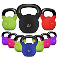 We R Sports Kettlebells With Rubber Sleeve 4kg to 40kg Home Gym Fitness Exercise Kettlebell Training Workout Strength Training 4kg 6kg 8kg 10kg 12kg 14kg 16kg 18kg 20kg 22kg 26kg 28kg 30kg 32kg 34kg 36kg 38kg 40kg On sale-image