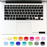 iBenzer - Macaron Serie Black Keyboard Cover Silicone Rubber Skin for Macbook Pro 13'' 15'' 17'' (with or without Retina Display) Macbook Air 13'' and iMac - Black MKC01BK