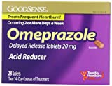 Good Sense Omeprazole Delayed Release, Acid Reducer Tablets 20 mg, 28 Count