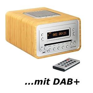 sonoro cubo cd player dab radio alarm clock. Black Bedroom Furniture Sets. Home Design Ideas