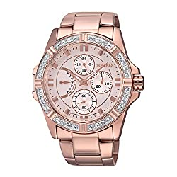 Seiko Lord Chronograph White Dial Womens Watch - SRLZ94P1