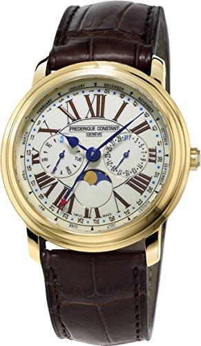 Frederique Constant Geneve Classic Business Timer FC-270EM4P5 Reloj de Pulsera para hombres Legibilidad Excelente