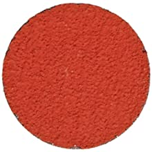 "3M Roloc Disc TSM 777F, YF Weight Polyester Cloth, Ceramic Aluminum Oxide, Dry/Wet, 3"" Diameter, 36 Grit (Pack of 50)"