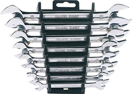 Draper 64609 Expert 8 Piece Metric Double Open Ended Spanner Set draper diy series 11 piece combination spanner set