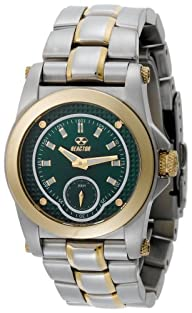 REACTOR Women's 96109 Helium Emerald Green Pearl Two-Tone Sport Watch