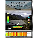 Training to Endure! Anchorage to Eagle River, Alaska Virtual Indoor Cycling Training / Spinning Fitness and Weight Loss Videos