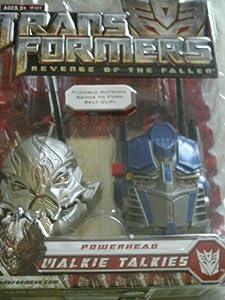 Transformers 2 Revenge of the Fallen Powerhead Walkie Talkie Optimus Prime & Starscream