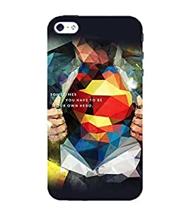 printtech Cool Vector S Logo Back Case Cover for Apple iPhone 4