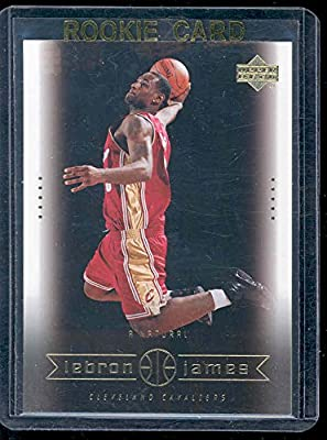 2003 Upper Deck #18 A Natural Lebron James Rookie Card - Mint Condition Ships in a Brand New Holder
