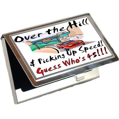 Cheap Guess Whos 45 Years Old Business Card Holder Review