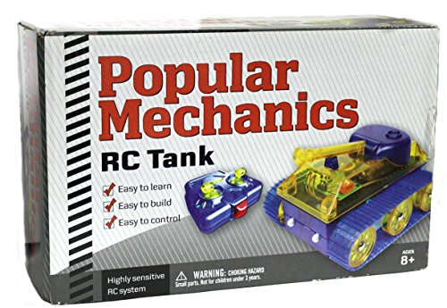Popular Mechanics RC Tank