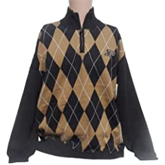 NCAA Purdue Boilermakers Argyle Sweater, XX-Large by Donegal Bay
