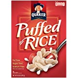 Quaker Essential Puffed Rice Cereal, 6.3-Ounce Boxes (Pack Of 10)