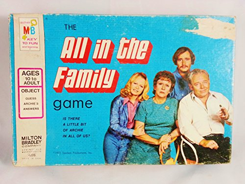The All in the Family T.V. Show Game