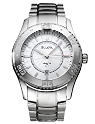 Bulova 96G93 Marine Star Series Silver Dial Men's Watch