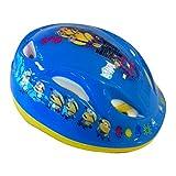 Minions Fahrradhelm Kinderhelm Kinder Schutzhelm Helm Kinderfahrradhelm Radhelm, 51 - 55 cm