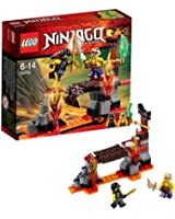 Lego Ninjago - Playthèmes - 70753 - Jeu De Construction - Les Chutes De Lave
