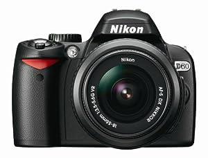Nikon D60 DSLR Camera with 18-55mm f/3.5-5.6G AF-S Nikkor Zoom Lens