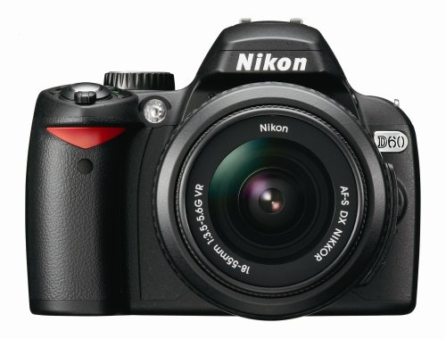 Nikon D60 (with 18-55mm VR Lens) is one of the Best Digital Cameras for Low Light Photos Under $2500