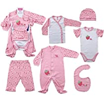 6-Piece Sweet Baby Layette Set, 0-3 months