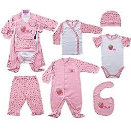 6-Piece Sweet Baby Layette Set, 0-3 months