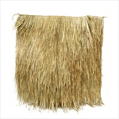 Mexican Palm Thatch Panel Quantity: 12 Pack