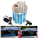 IMAGE� Auto Car Music Rhythm Glow Bluer LED Glow Light Lamp Sound Activated Sensor Equalizer Car Stickers 70*16cm