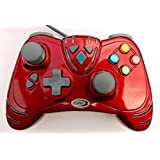 XBox 360 Wired WildFire Controller - Limited Edition Ruby Red