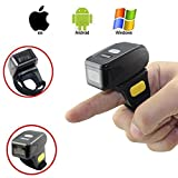 Seesii Handheld Mini Bluetooth Wireless MJ-R30 Ring Finger Barcode Scanner Reader For Android & iOS Phone