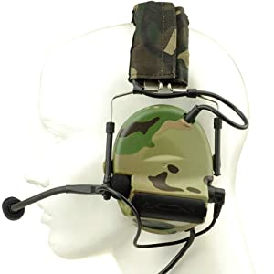 ?Z-TAC Official Store? Z-Tactical Comtac II Headset Style COMTAC II Headset Ver2.0 Style Noise Canceling Sound Collection Soundproof Tactical Headset with Mic G:1 Specifications Non-Mil-Spec Z041 (Color: Multicam)