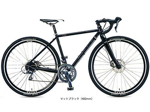 アラヤ(ARAYA) 17'CXG マディフォックスCX グラベル シクロクロスバイク マットブラック(K) 540mm 5253