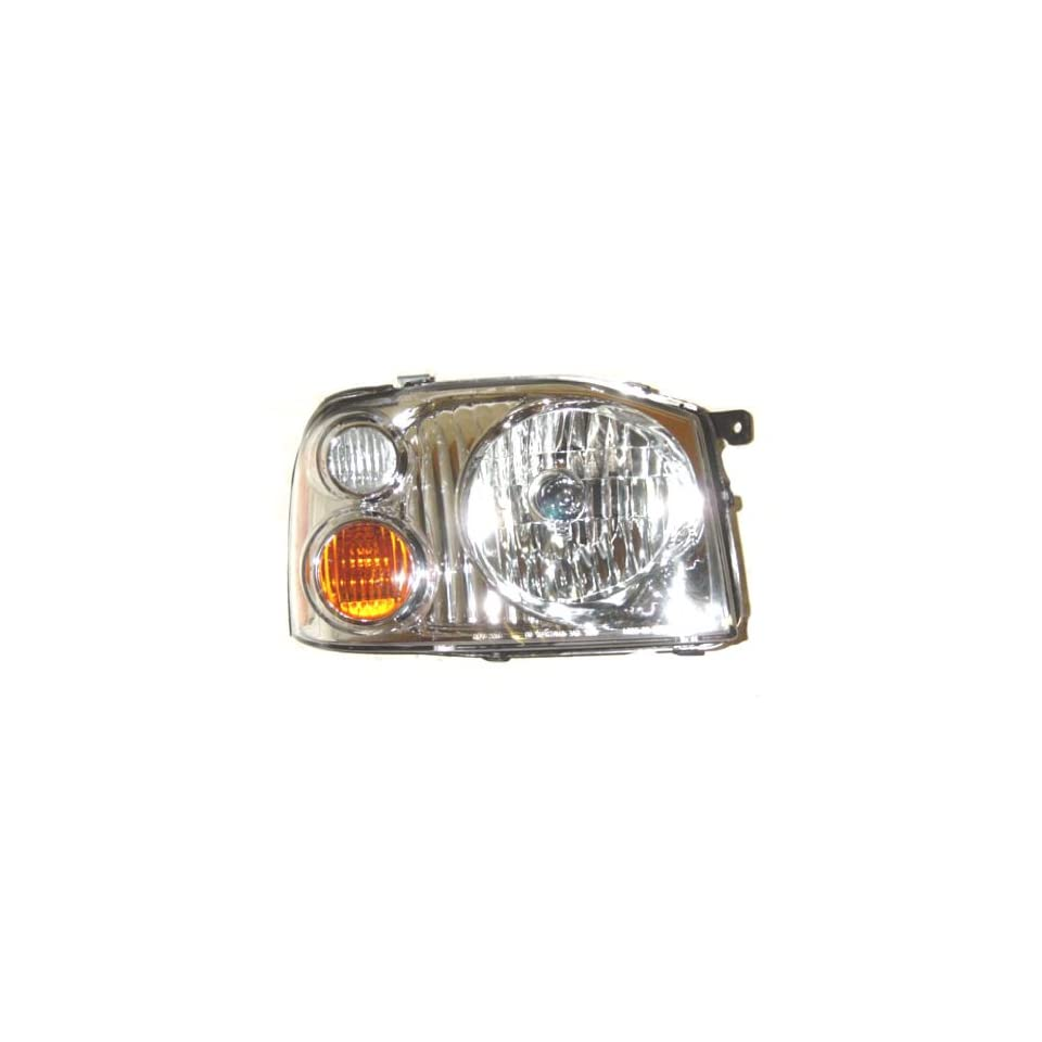 OE Replacement Nissan/Datsun Frontier Passenger Side Headlight Assembly Composite (Partslink Number NI2503130)