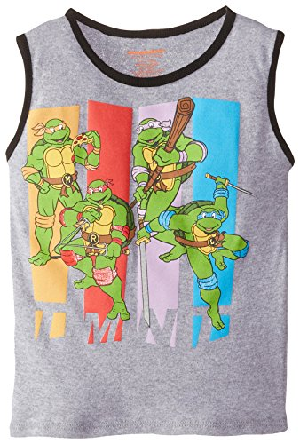 Teenage Mutant Ninja Turtles Little Boys' Turtles Group Shot Toddler Boy Tank