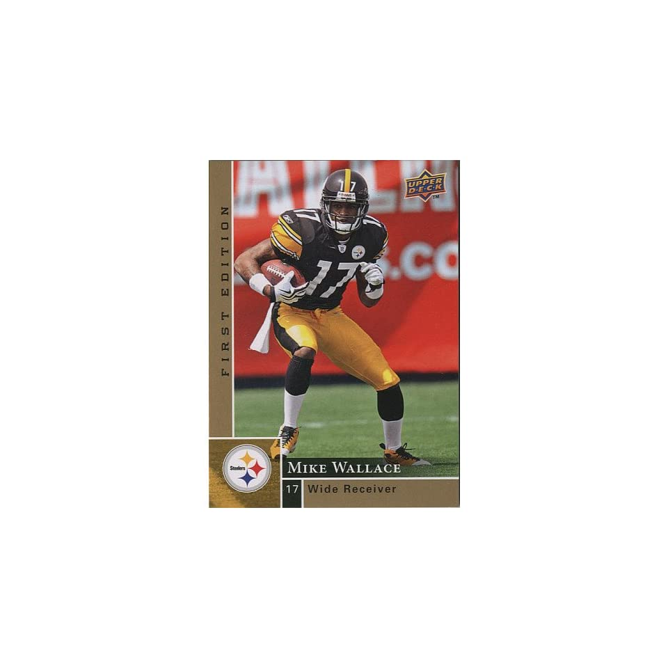 Pittsburgh Steelers Mike Wallace 2009 Trading Card
