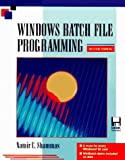 Windows Batch File Programming/Book and Disk