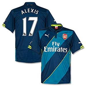 Arsenal 3rd Alexis Jersey 2014 / 2015 - S