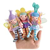 Beneath The Leaf Fairy Finger Puppets Set Of 3