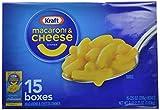 Kraft Blue Box Macaroni & Cheese, 7.25-oz. Boxes (Count of 15)